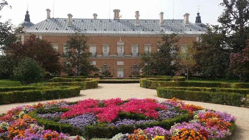 guided visits from Madrid to Aranjuez
