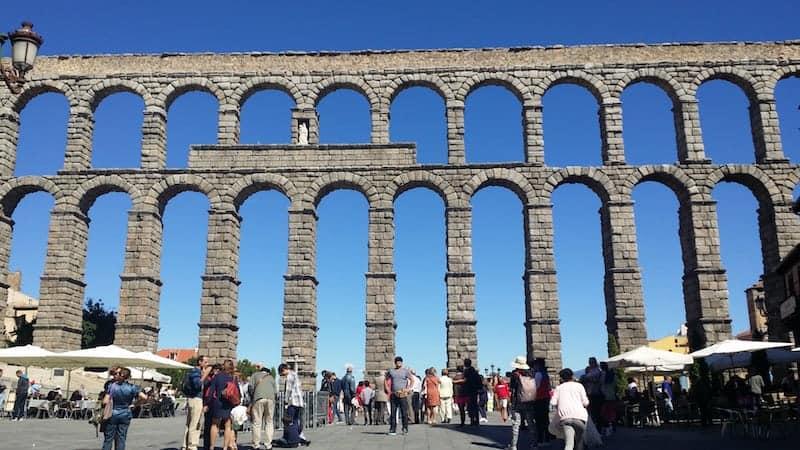Acueducto en Segovia