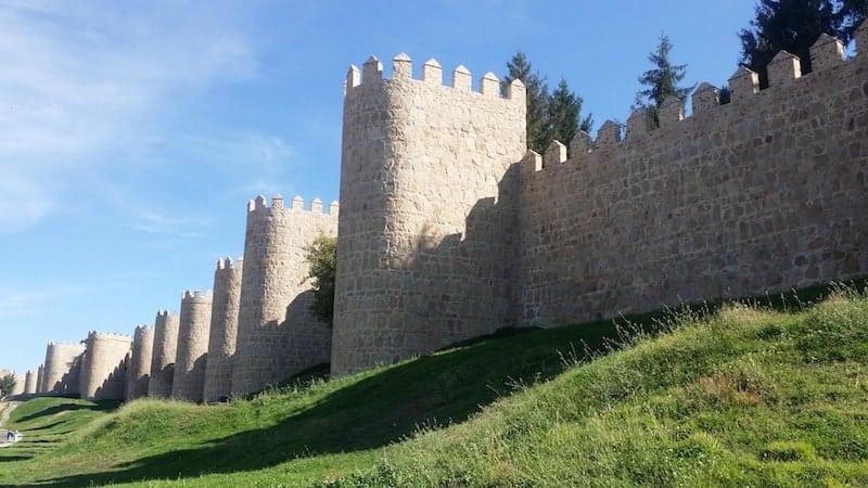 murallas medievales de Avila