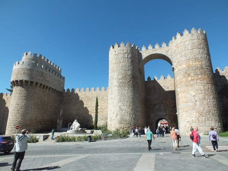 access gates to the city of Avila