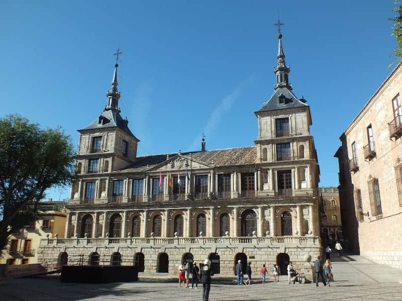 Town Hall square in Toledo