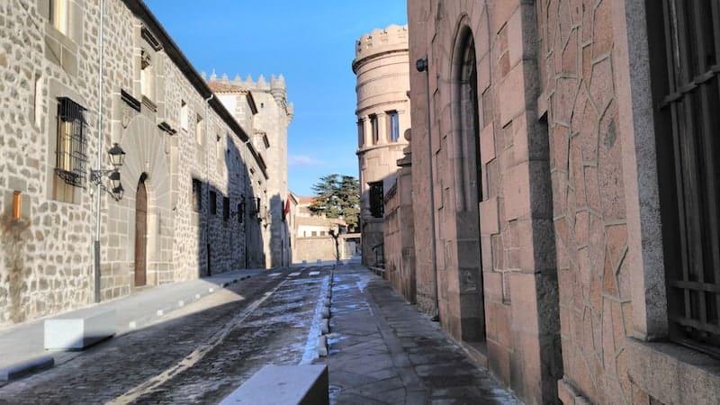 medieval streets of Avila