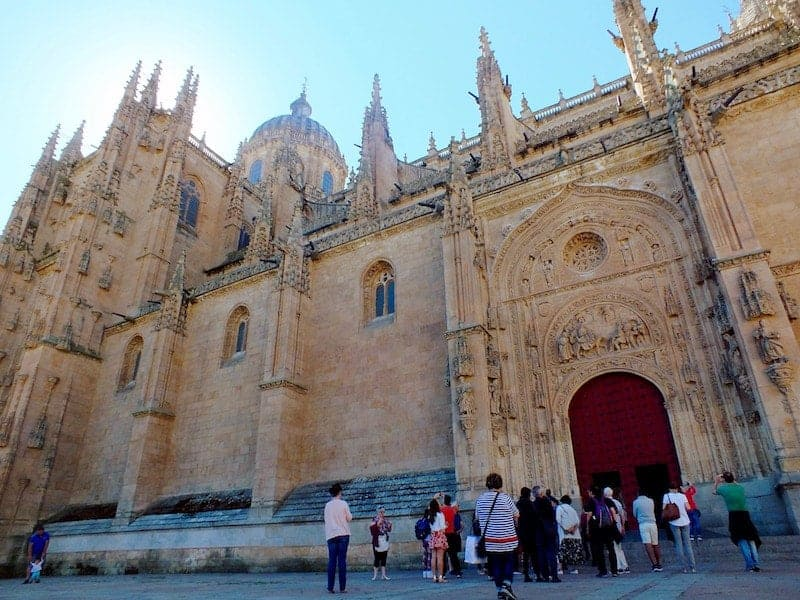 Facade of the Salamanca's Cathedral