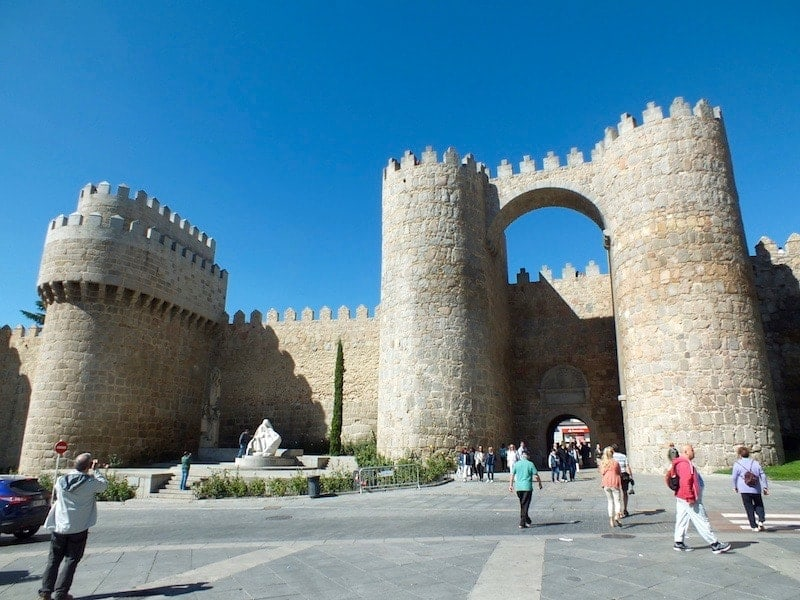 entrance to the walls of Avila