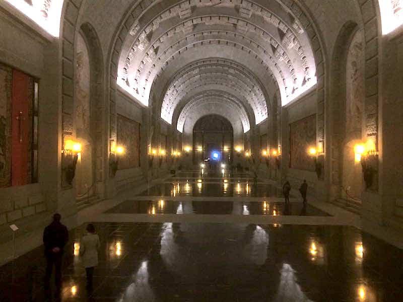 Interior del Valle de los Caídos=