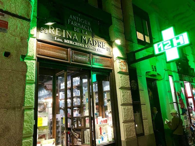 Pharmacy of La Reina Madre