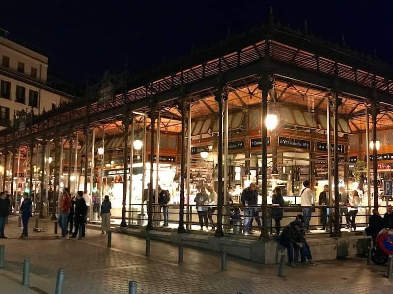 San Miguel market night tour