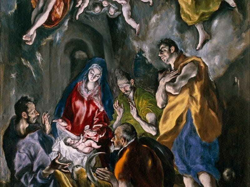 The Adoration of the Shepherds of El Greco