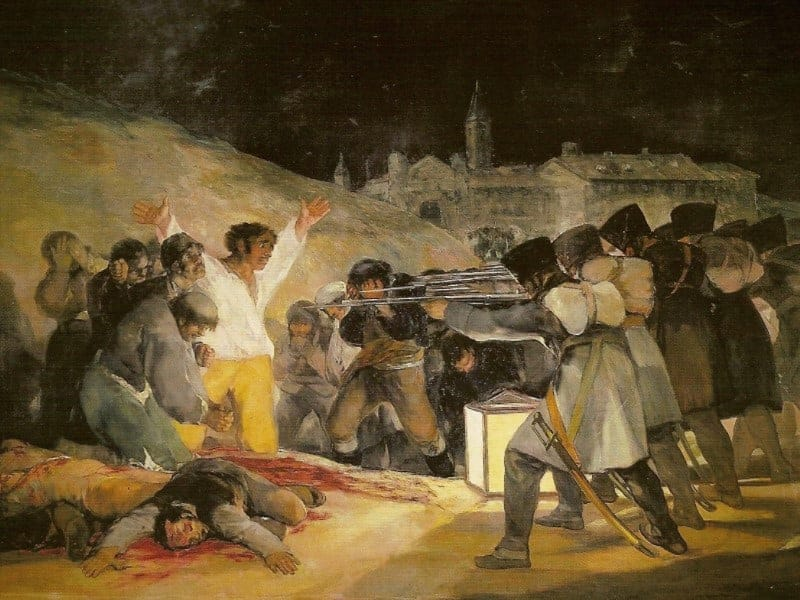 The 3rd of May 1808 in Madrid