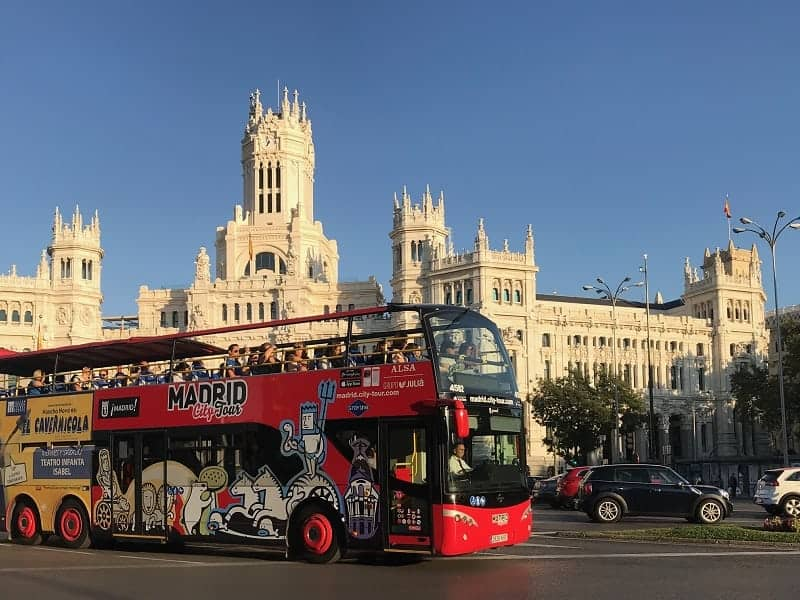 Bus Madrid