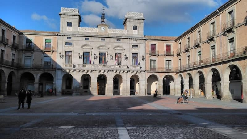 Main Square of Avila
