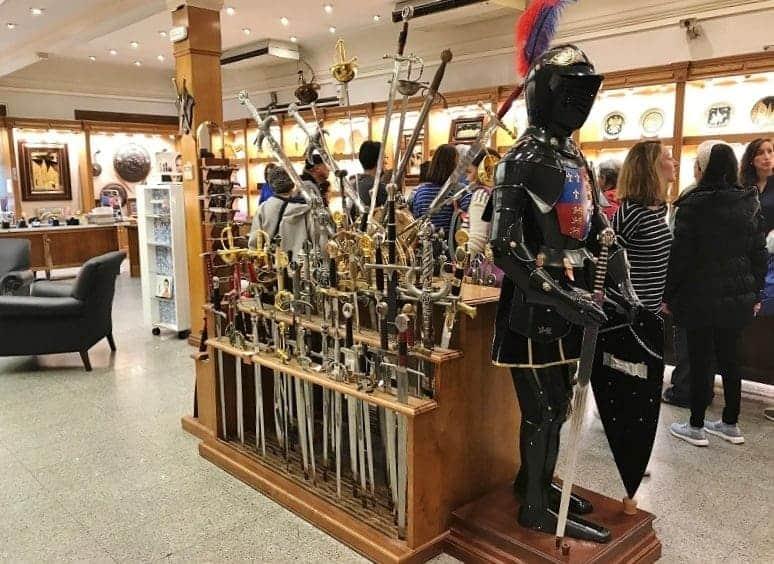 Gift shop in Toledo