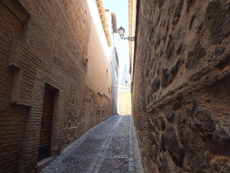 Calles del casco de Toledo