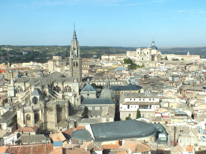 Views of Toledo from the Alcazar