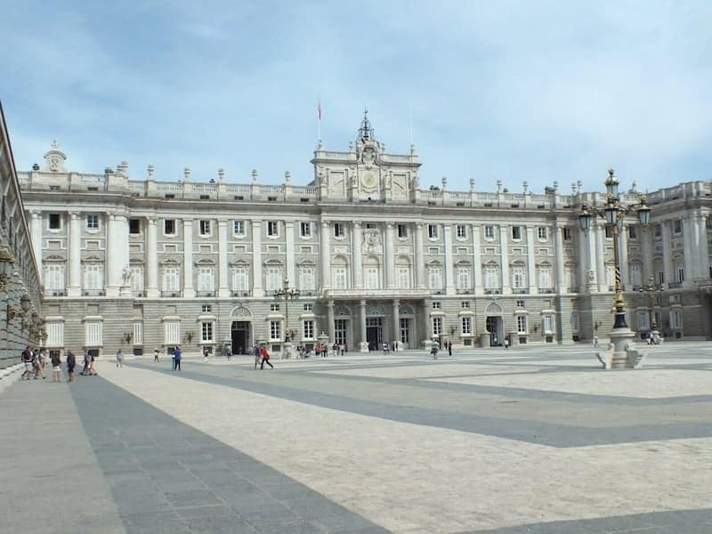 Facade of the Royal Palace