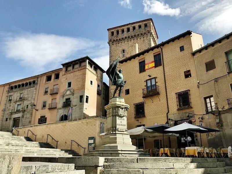 Lozoya Tower in Segovia