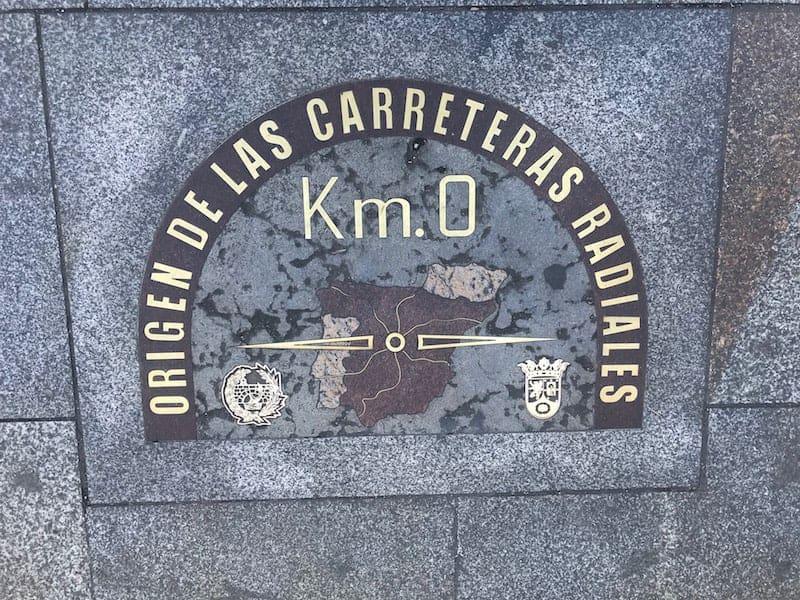 km 0 Puerta del Sol